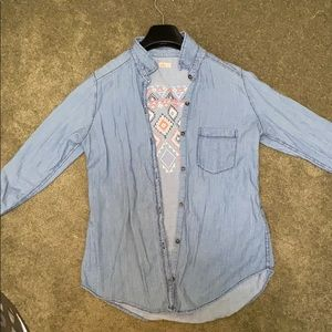 Button down Hollister Shirt